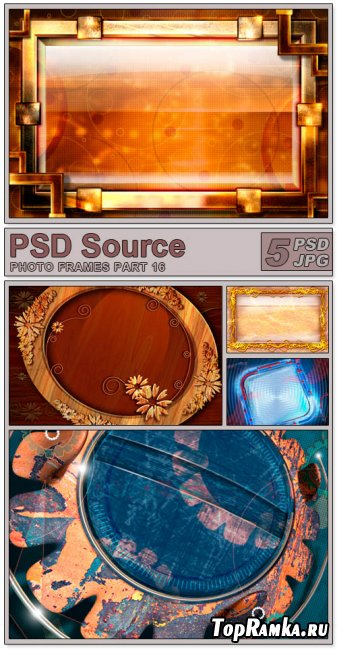 Layered PSD Files - Photo frames 16