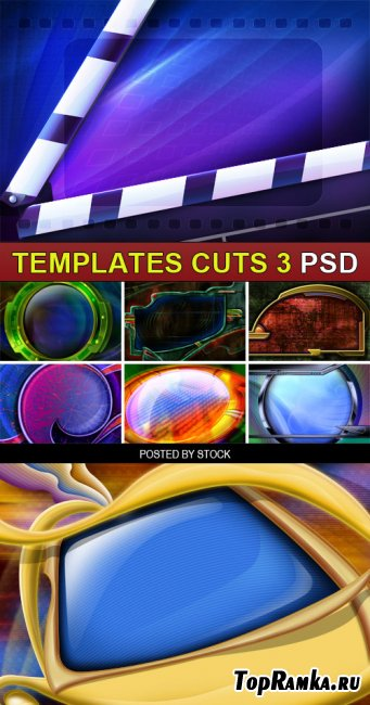 PSD Source - Templates cuts 3