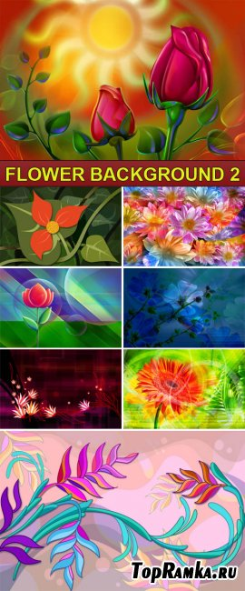 PSD Source - Flower background 2