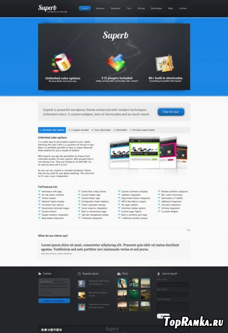 Superb v1.0.1 - Themeforest Powerful WordPress Theme
