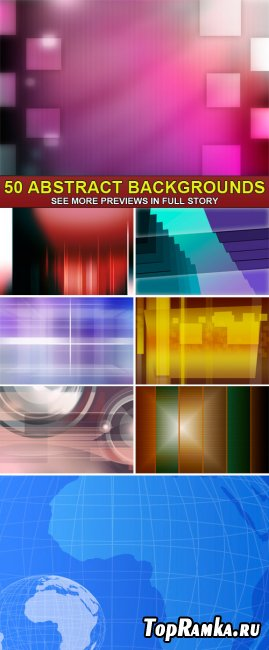 PSD Source - 50 Abstract backgrounds