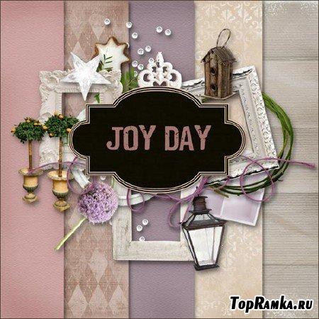 Скрап-набор - Радостный день / Scrap kit - Joy Day