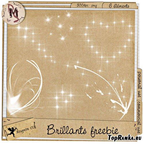 Скрап-набор - Бриллиантовые эллементы / Scrap kit - Brilliants Freebie