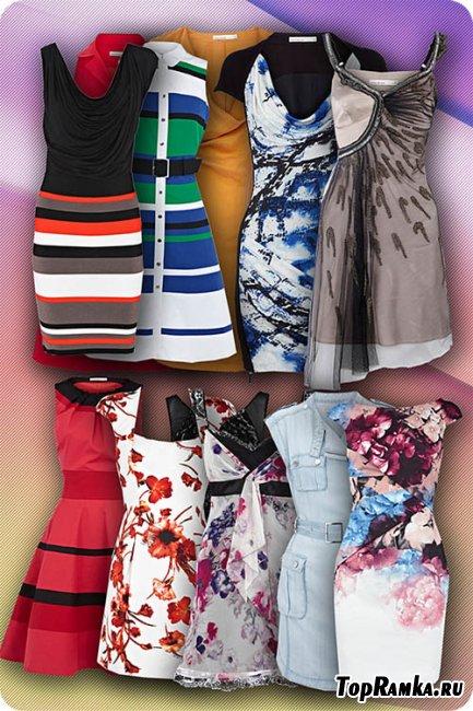 20 шаблонов модных летних платьев
