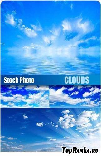 Облака над морем - фоны