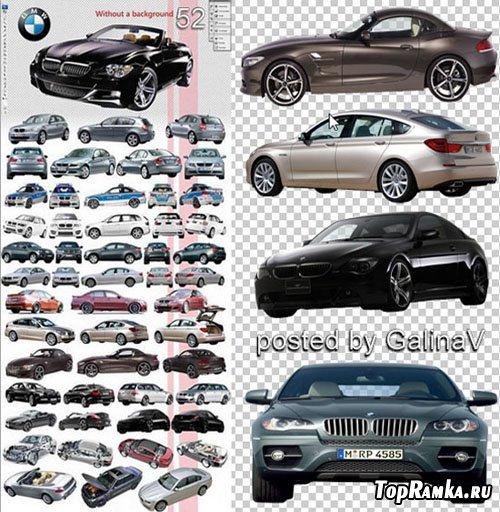 PSD-исходник - BMW автомобили
