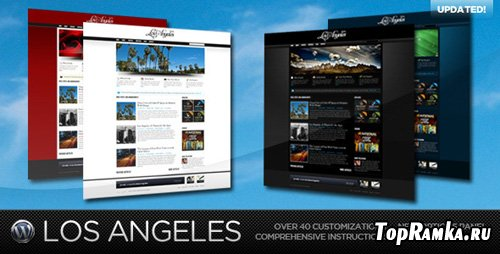 ThemeForest - Los Angeles - A Premium Wordpress Theme v1.3
