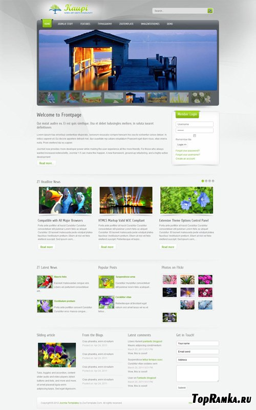 ZooTemplate - Kaupi for Joomla 2.5