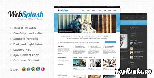 ThemeForest - Web Splash - Premium HTML Template - RIP