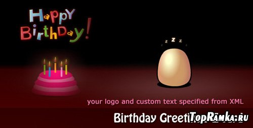 ActiveDen - Birthday Greetings E-card - RIP