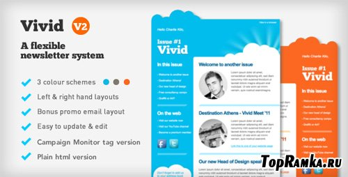 ThemeForest - Vivid Email Newsletter (FULL)