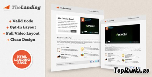 ThemeForest - TheLanding Landing Page