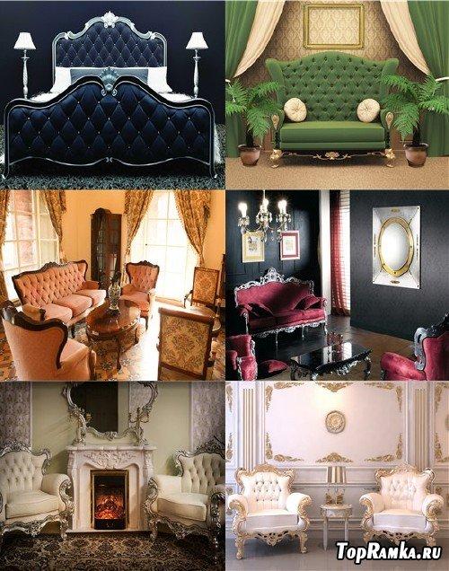 Растровый клипарт - Роскошная мебель