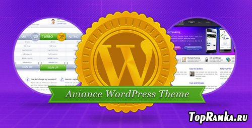 ThemeForest - Aviance - Creative and Business Theme v1.0 for Wordpress 3.x