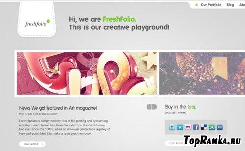 ThemeFuse - Freshfolio v1.0.7 -  WordPress Theme