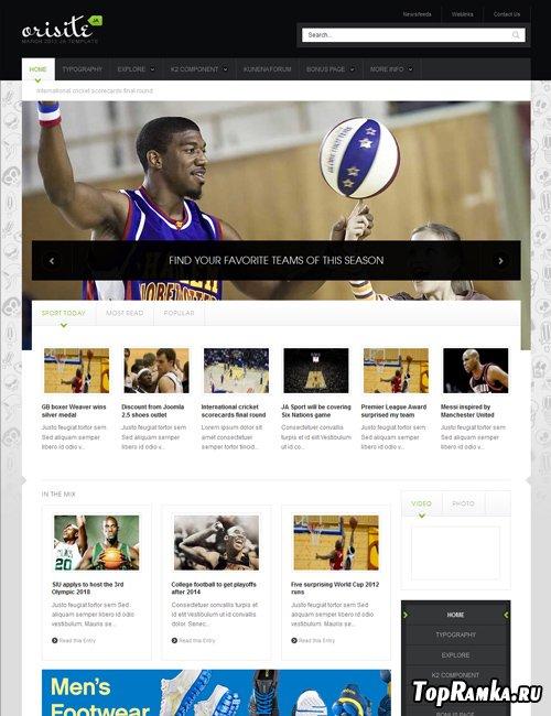 JoomlArt - Osirite - Joomla 2.5 Template - Retail