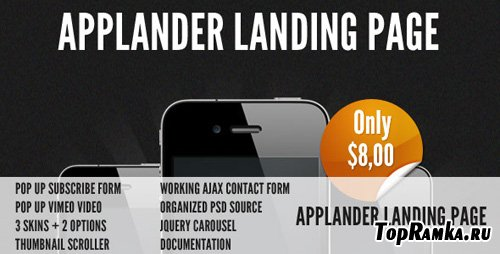 ThemeForest - Applander - App Landing Page RIP