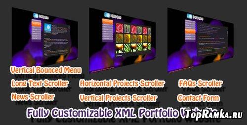 ActiveDen - Fully Customizable XML Portfolio Website - RETAIL