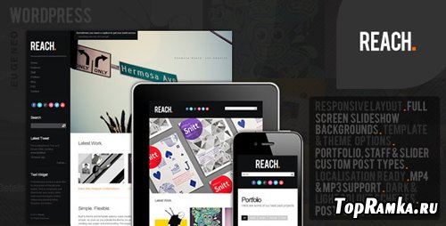 ThemeForest - Reach V1.4 - Business Portfolio WordPress Theme