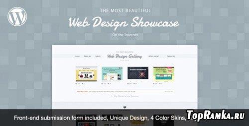 ThemeForest - Web Design Showcase v1.0 for Wordpress 3.x