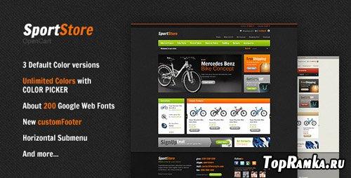 ThemeForest - SportStore Premium Theme v1.4 for OpenCart 1.5.2.1
