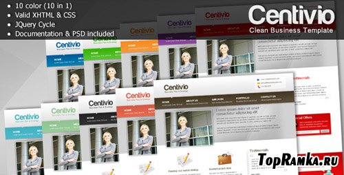 ThemeForest - Centivio - Clean Business Template - 10 in 1 - Retail (reuploaded)