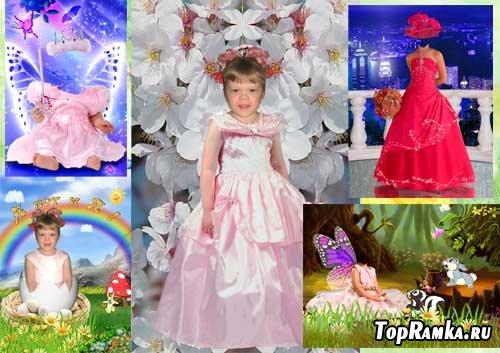Коллекция-3 костюмов для девочек