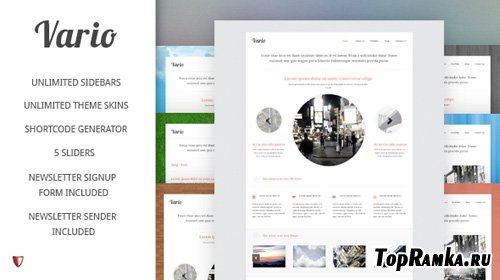 MojoThemes - Vario - WordPress Theme
