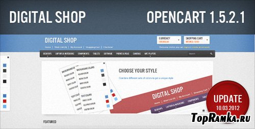 ThemeForest - Enhance - Responsive v1.0 updated 26.02.2012 for OpenCart 1.5
