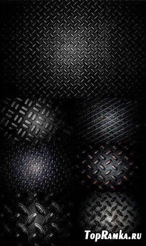 Сборник металлических ребристых текстур