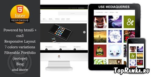 ThemeForest - Inter-Communicate - Responsive HTML5 Blog Template - RIP