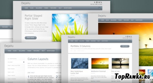 MySiteMyWay - DejaVu v2.0 for Wordpress 3.x