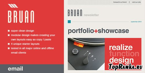 ThemeForest - Bruan Email Template - RiP