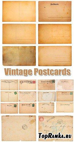 Старинные почтовые карточки - фоны (HQ)