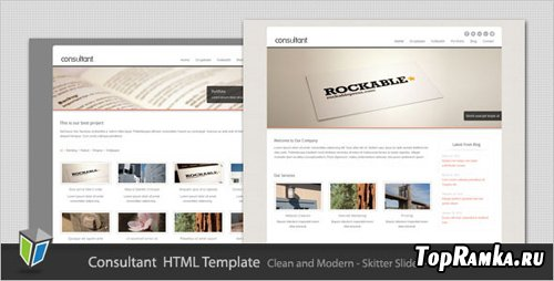ThemeForest - Consultant - Corporate Business HTML Template - RiP