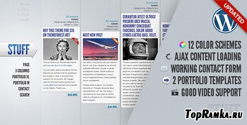 ThemeForest - Stuff v2.4 - WordPress Theme