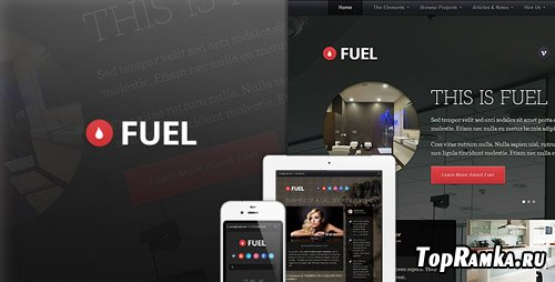 ThemeForest - Fuel - Responsive HTML Theme - RiP