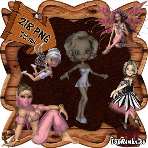 Скрап-набор - Мир фей и волшебства 6. Scrap - World of fairies and magics 6