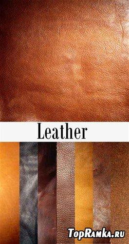 Восемь кожаных текстур