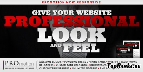 ThemeForest - ProMotion Responsive Wordpress Theme