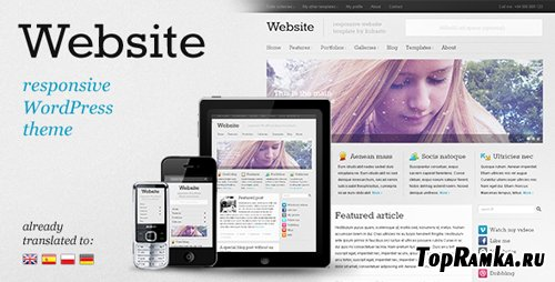 ThemeForest - Website - Responsive Premium WordPress theme - V1.2 - UPDATED