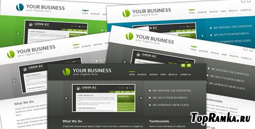 ThemeForest - BlueCorp/GrayCorp - Multi-Use Business Template - Retail (reuploaded)