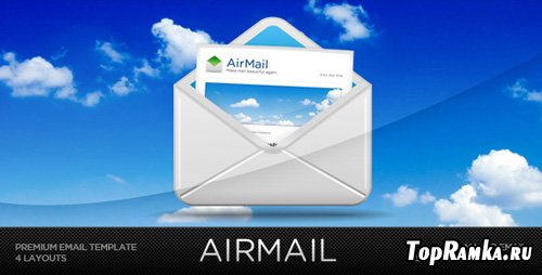 ThemeForest - Airmail! - Customizable Email Template - Retail (reuploaded)