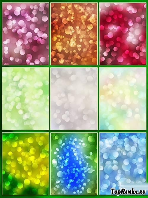 Bokeh backgrounds - color mix 2