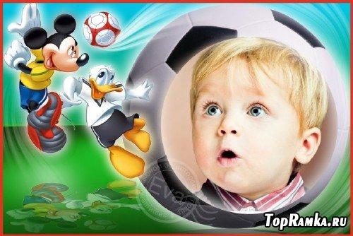 Детская фоторамка - Лучшие футболисты