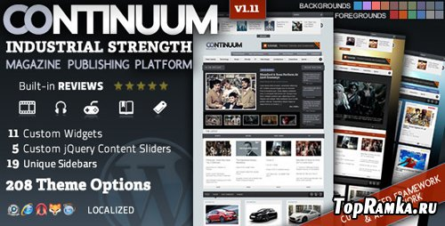 ThemeForest - Continuum - Magazine Theme v1.12 for Wordpress v3.x