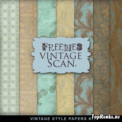 Textures - Old Vintage Backgrounds #69