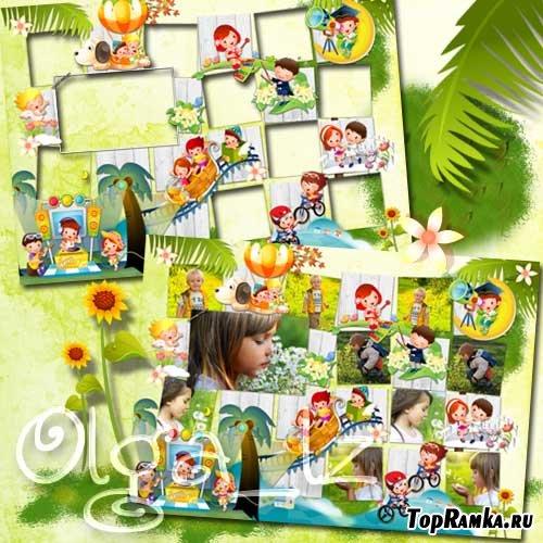 Виньетка – Мир солнечного детства