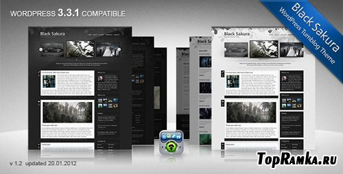 ThemeForest - Black Sakura v1.2 for Wordpress 3.x