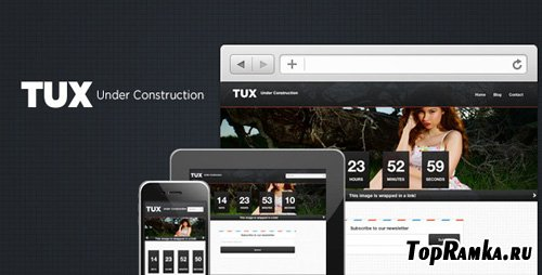 ThemeForest - TUX - Responsive Under Construction Template